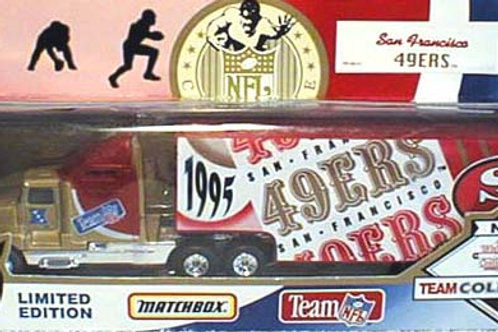 1995 San Francisco 49ers Tractor Trailer
