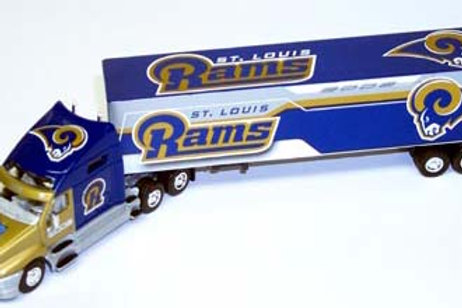 2002 ST. Louis Rams Tractor Trailer