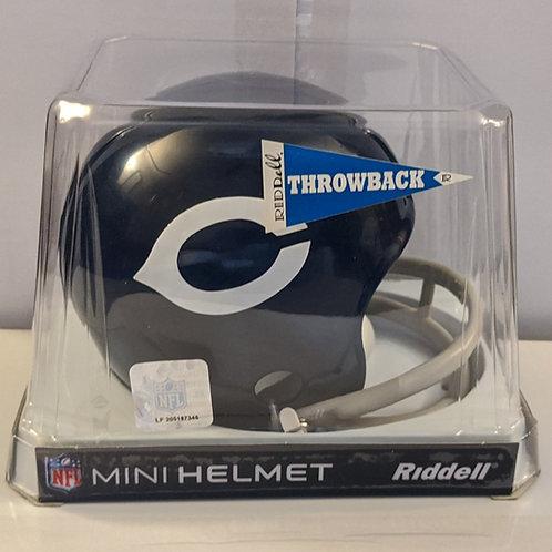 2010 Chicago Bears Throwback (62-73) Riddell Mini Helmet