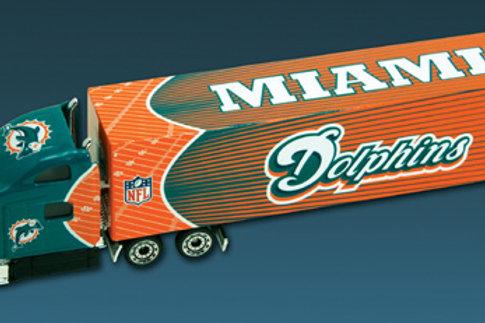 2010 Miami Dolphins Tractor Trailer