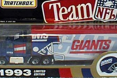 1993 New York Giants Tractor Trailer