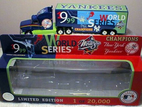 1999 New York Yankees World Series Tractor Trailer