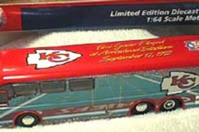 2001 Kansas City Chiefs Stadium Bus