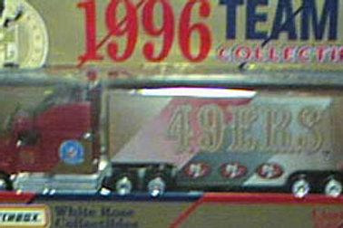 1996 San Francisco 49ers Tractor Trailer