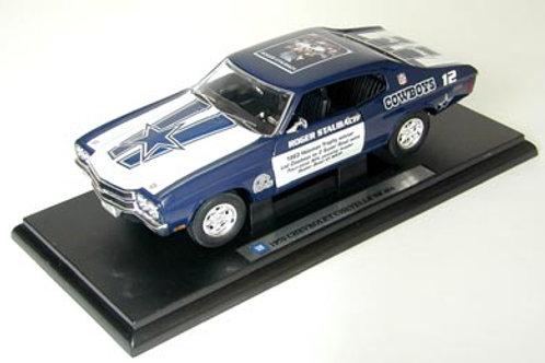 2002 Dallas Cowboys Roger Staubach 1970 Chevrolet Chevelle