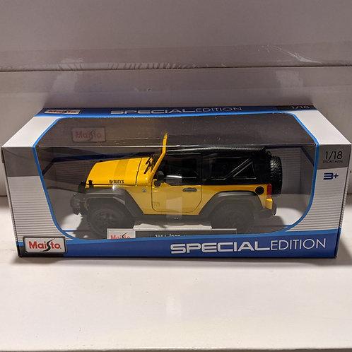 2014 Jeep Wrangler (Yellow)