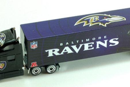 2011 Baltimore Ravens Tractor Trailer