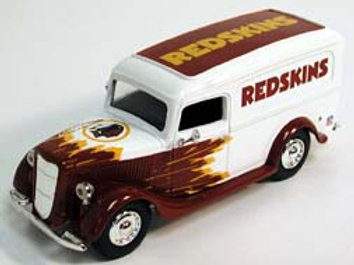 2005 Washington Redskins ERTL 1936 Ford Panel Van