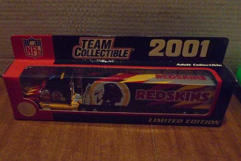 2001 Washington Redskins Tractor Trailer