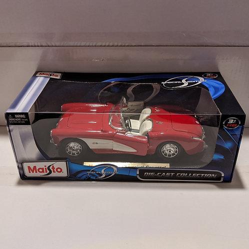 1957 Chevrolet Corvette (red)