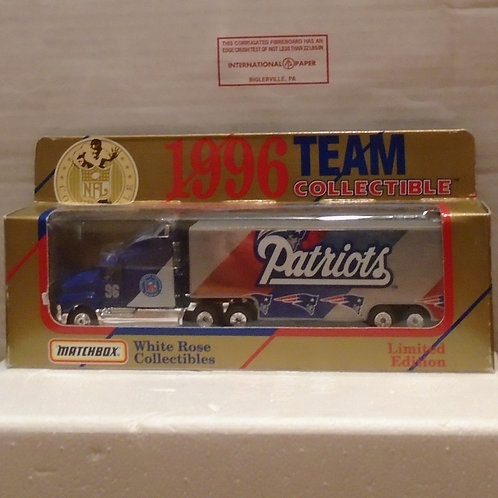 1996 New England Patriots Tractor Trailer