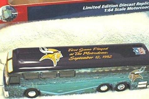 2001 Minnesota Vikings Stadium Bus