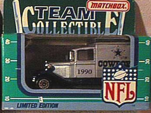 1990 Dallas Cowboys Milk Truck
