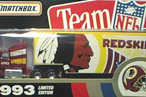 1993 Washington Redskins Tractor Trailer