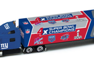 2012 New York Giants 4X Super Bowl Champions Tractor Trailer