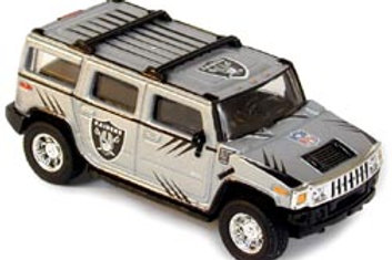 2004 Oakland Raiders Hummer H2 w/ Jerry Porter Card