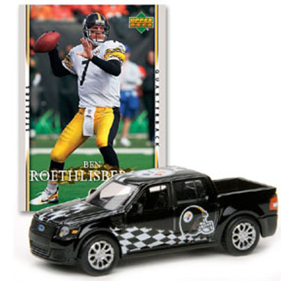 2007 Pittsburgh Steelers Ford SVT Adrenaline w/Ben Roethlisberger Card
