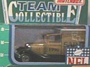 1990 New Orleans Saints Milk Truck