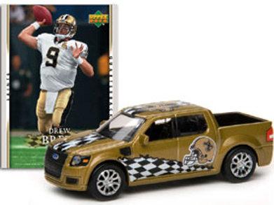 2007 New Orleans Saints Ford SVT Adrenaline w/Drew Brees Card
