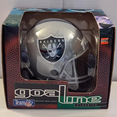 1995 Oakland Raiders ERTL Mini Helmet Bank