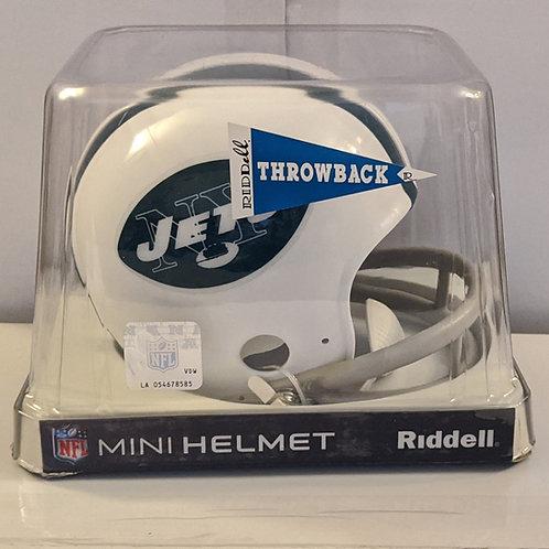 2010 New York Jets Throwback (81-99) Riddell Mini Helmet