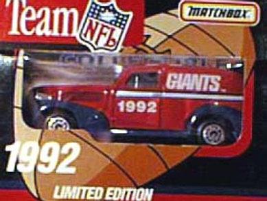 1992 New York Giants Delivery Van