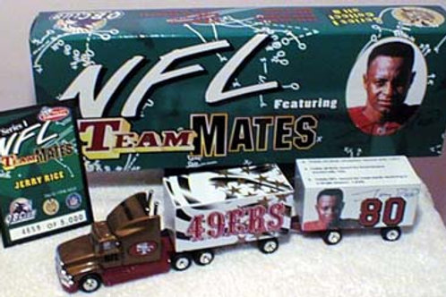 "1998 San Francisco 49ers ""Teammates"" Jerry Rice Tractor Trailer"