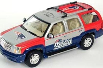2002 New England Patriots Cadillac Escalade
