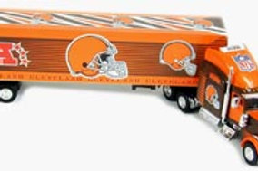 2004 Cleveland Browns Tractor Trailer