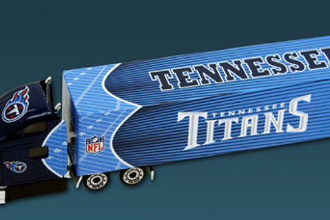 2010 Tennessee Titans Tractor Trailer