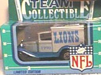 1990 Detroit Lions Milk Truck