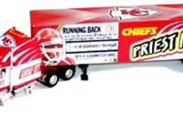 "2004 Kansas City Chiefs ""SuperStars"" Priest Holmes Tractor Trailer"