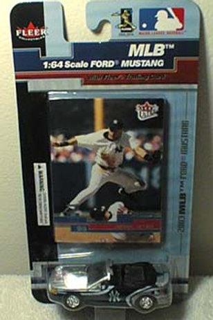 2003 New York Yankees Ford Mustang w/ Derek Jeter card