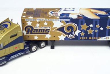 "2002 ST. Louis Rams ""Superstars"" Kurt Warner Tractor Trailer"