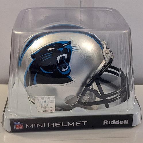 2015 Carolina Panthers Riddell Mini Helmet