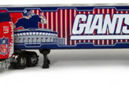 2005 New York Giants Tractor Trailer