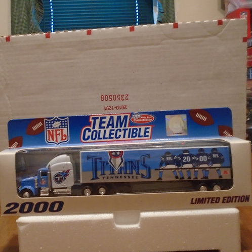 2000 Tennessee Titans Tractor Trailer