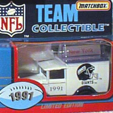 1991 New York Giants Milk Truck