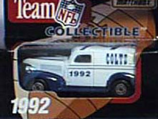 1992 Indianapolis Colts Delivery Van