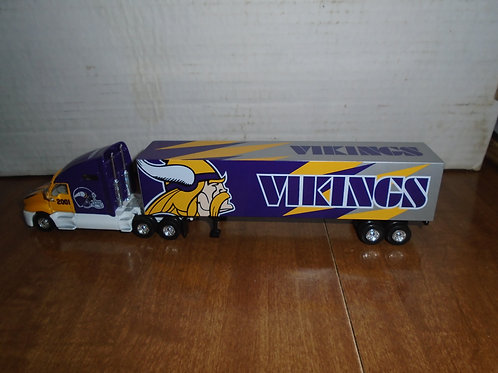 2001 Minnesota Vikings Tractor Trailer