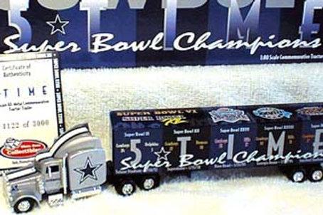 2000 Dallas Cowboys 5x Super Bowl Tractor Trailer