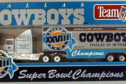1995 Dallas Cowboys Super Bowl XXVIII (28) Tractor Trailer