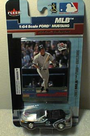 2003 New York Yankees Ford Mustang w/ Giambi card