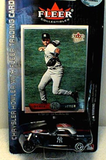 2002 New York Yankees Chrysler Howler w/ Derek Jeter card