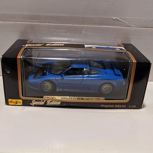 1992 Bugatti EB110 (blue)