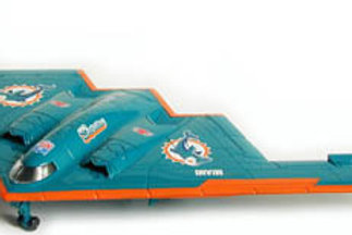 2003 Miami Dolphins B2 Stealth Bomber