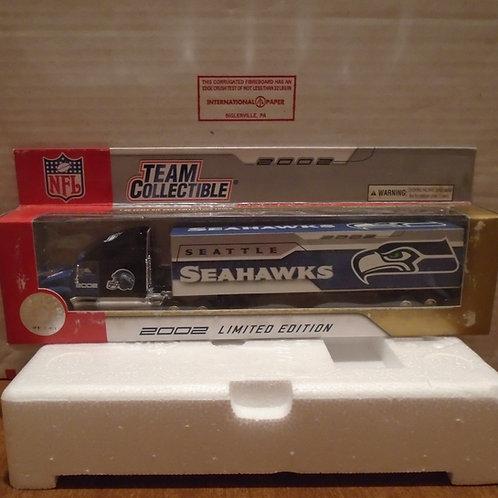 2002 Seattle Seahawks Tractor Trailer
