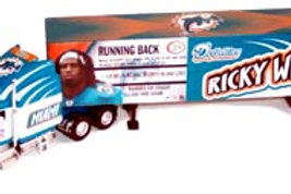 """2004 Miami Dolphins """"SuperStars"""" Ricky Williams Tractor Trailer"""