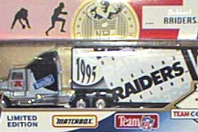 1995 Los Angeles Raiders Tractor Trailer