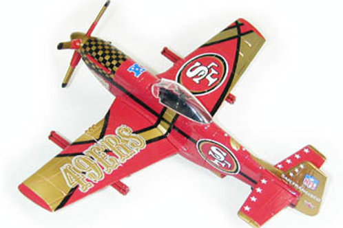 2003 San Francisco 49ers P-51 Airplane